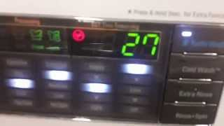 LG Washing Machine At The Home Depot