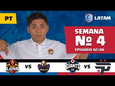 CRL LATAM: Mad Lions vs Vivo Keyd | Giants Gaming vs Pain Gaming