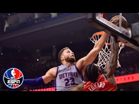 Video: Blake Griffin's 30-point game helps Pistons to thrilling win vs. Raptors | NBA Highlights