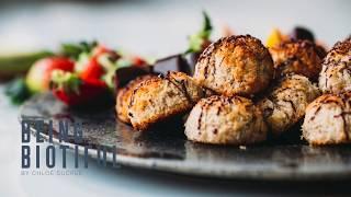 Receta de Pascua saludable: Macarrons de coco rallado, tahini y jengibre