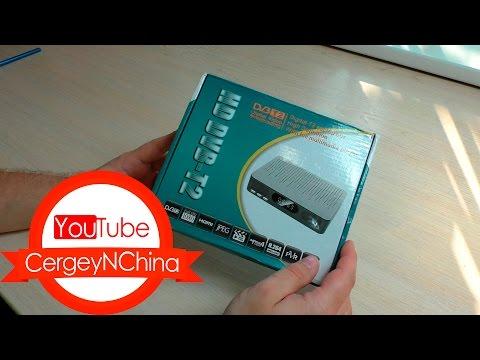 Посылка из Китая с дешевым цифровым тюнером DVB-T2