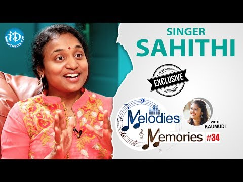 Singer Sahithi Exclusive Interview
