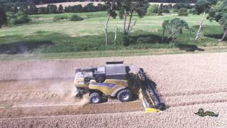 Wortley United Kingdom  city photos : 2016 New Holland combine O W Wortley & sons Norfolk england