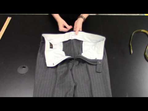 How To Measure Men's Trousers
