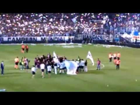 Video - Sale Racing vs Godoy Cruz 1-0 Racing Campeon - La Guardia Imperial - Racing Club - Argentina