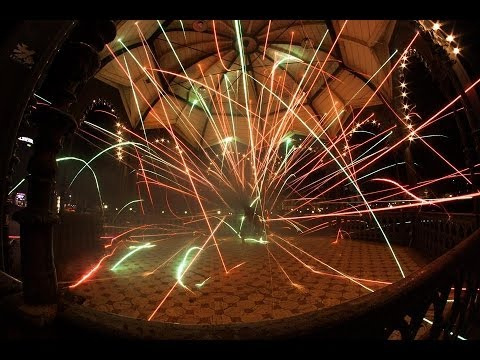 Watch a Guy Breakdance with Fireworks Strapped to His Legs