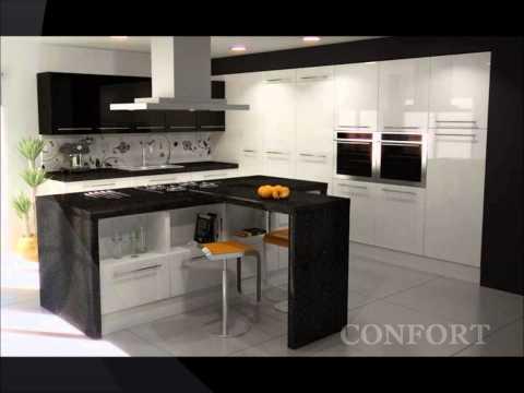 Cocinas integradas videos videos relacionados con for Cocinas minimalistas integradas
