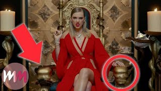 "Video Top 10 References You Missed in Taylor Swift's ""Look What You Made Me Do"" MP3, 3GP, MP4, WEBM, AVI, FLV Maret 2018"