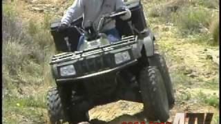 9. ATV Television - 2003 Arctic Cat 500i Test