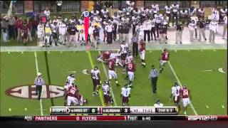Donta Hightower vs Auburn and Mississippi State