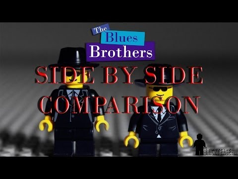 The Blues Brothers Chase Scene in LEGO
