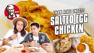 Video KFC SALTED EGG CHICKEN!! Enak ato Eneg???? MP3, 3GP, MP4, WEBM, AVI, FLV Maret 2018
