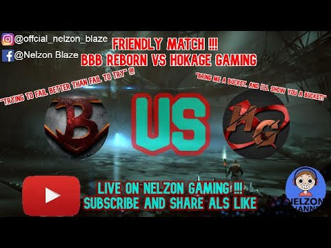 [MOBILE LEGENDS BANG BANG] Friendly Match BBB Reborn VS HOKAGE GAMING Who Is The Champion?