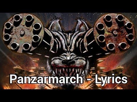 Raubtier - Panzarmarsch (Lyrics + English)