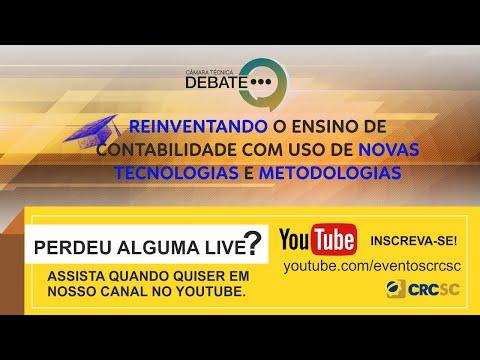 Câmara Técnica Debate: Reinventando o ensino de contabilidade com uso de novas tecnologias e metodologias