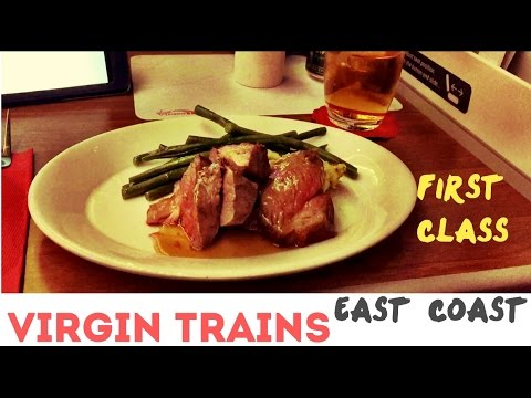 Virgin Trains East Coast First Class - London to Newcastle