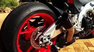 8. 2016 Aprilia Tuono 1100 Factory feat. Austin Racing GP1R Exhaust