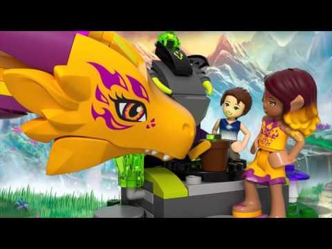 Конструктор Лавовая пещера дракона огня - LEGO ELVES - фото № 4
