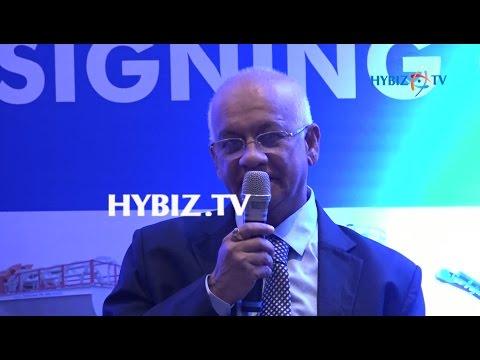, Prakash Pai-Puzzolana MoU with Tata International