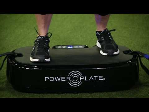 Power Plate training with Lisa Varga, Warming Up