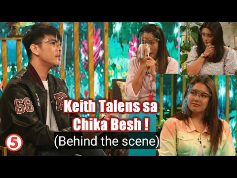 "Keith Talens on Tv5 Chika Besh Behind the Scene ""Taping"""