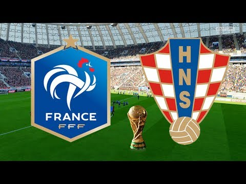 World Cup 2018 Final - France Vs Croatia  - 15/07/18 - FIFA 18