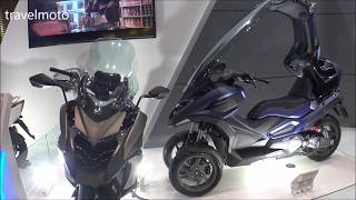 4. The 2018 Kymco CV3 scooter