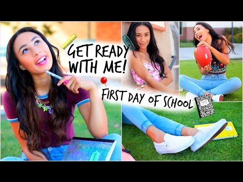 school - Today I'm showing you my first day of school look! LETS GET THIS VIDEO TO 50000 LIKES! :) Shop the denim that I wore here: http://bit.ly/VhujnC Watch my other back to scho STALK ME ON THE...