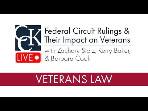 Federal Circuit Rulings & Their Impact on Veterans (2018)
