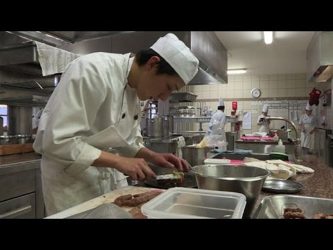 Tsuji, The French School For Japan's Future Star Chefs