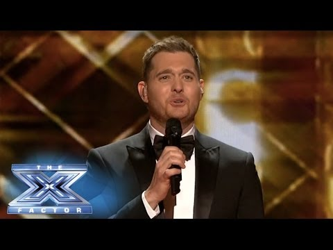 Michael Bublé Croons On The X Factor - THE X FACTOR USA 2013