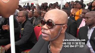 KOFFI OLOMIDE,FERRE GOLA,FALLY NA BA ARTISTE MUSUSU BA RENDRE HOMMAGE NA BABIA NDONGA.
