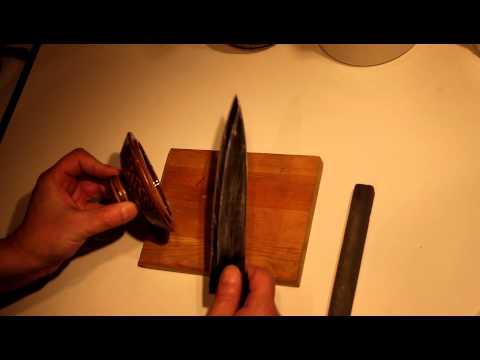Как заточить нож
