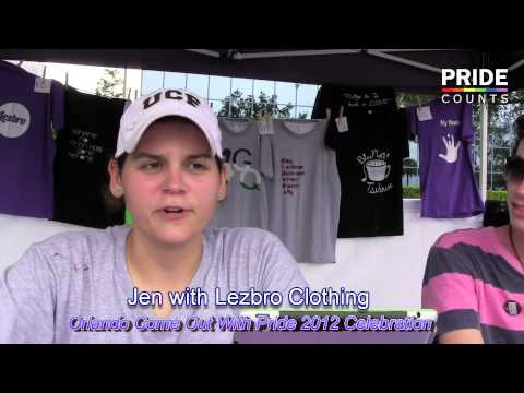 Lezbro Clothing Supports Come Out with Pride Orlando 2012