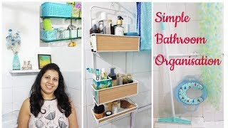 Small Bathroom Organization | Indian Bathroom Storage Ideas | Maitreyee's Passion