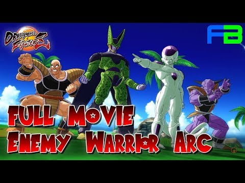Dragon Ball FighterZ - Full Movie: Enemy Warrior Arc - All Cutscenes And Cinematics
