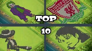 Video COC TOP 10 INSANE AND FUNNY BASES. MP3, 3GP, MP4, WEBM, AVI, FLV Agustus 2017
