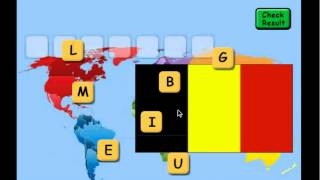 Flag Scrabble YouTube video