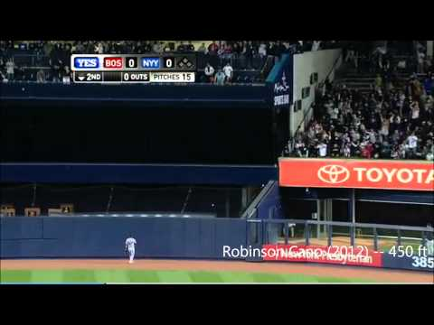 yankee stadium - Presenting the longest home runs hit in Yankee Stadium since its inception in 2009. Featuring: Raul Ibanez, Russell Branyan, A Rod, Robinson Cano, Francisco ...