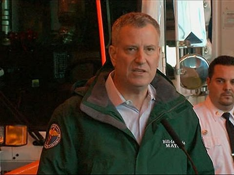 be - New York City Mayor Bill de Blasio says the snowstorm bearing down on the Northeast could be among the worst the city has ever seen. (Jan. 25) Subscribe for more Breaking News: http://smarturl.it/...