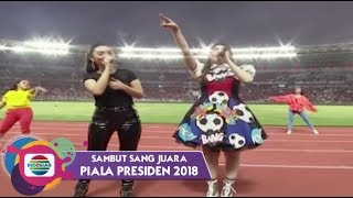 Video Zaskia Gotik dan Via Vallen - Cinta Terbaik | Piala Presiden 2018 MP3, 3GP, MP4, WEBM, AVI, FLV Mei 2018
