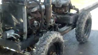 burdur yapımı traktör el yapımı
