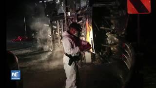 Al menos 14 muertos y 26 heridos dejó un accidente de tránsito de un autobús interprovincial ocurrido la noche del viernes en la vía Alóag-Santo Domingo, que ...