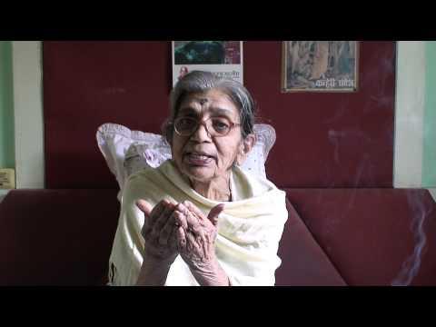 grandmaa morning prayers,marathi