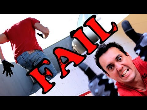 Parkour Fail