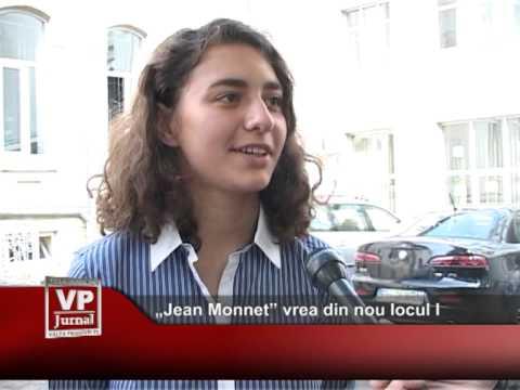 """""""Jean Monnet"""" vrea, din nou, locul I"""