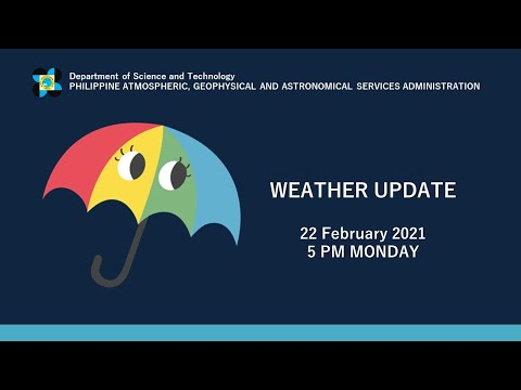 "Press Briefing: LPA ""#AURINGPH"" Monday, 5 PM February 22, 2021"