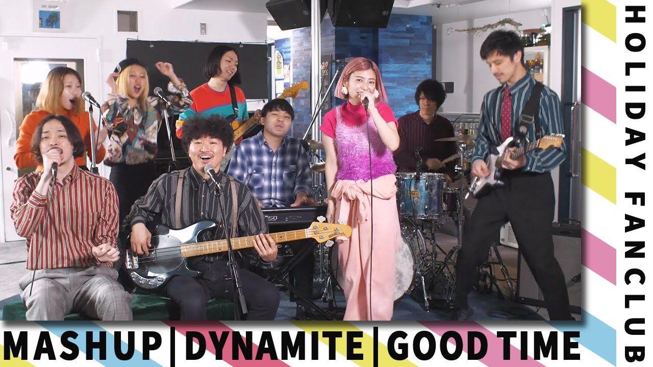 HOLIDAY FANCLUB - Dynamite (BTS) × Good Time (Owl City & Carly Rae Jepsen)