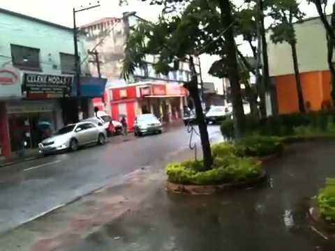 Manha de chuva em Ribeirão Pires