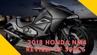 2. 2018 Honda NM4 Review of Specs – DCT Automatic Motorcycle (Vultus) | Motorcycle-sport!